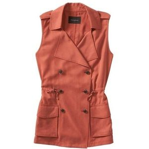 Banana Republic- orange utility vest